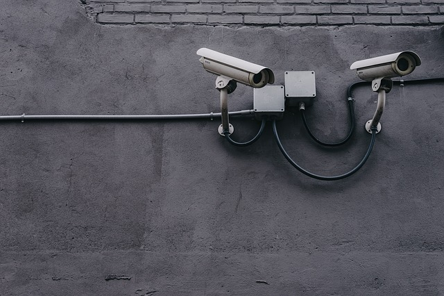 Concrete, Wall, Pipe, Cctv, Camera