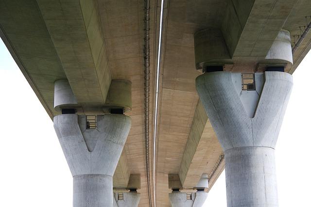 Architecture, Concrete, Steel, Large, Transport System