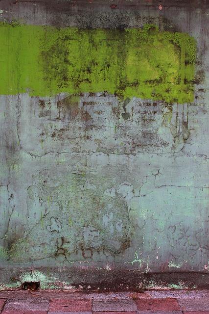 Material, Concrete Wall, Rough, Crack, Paint