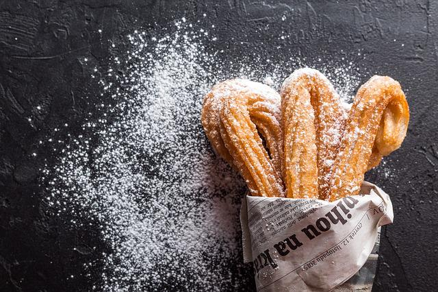 Churros, Baking, Cookies, Dessert, Confectionery