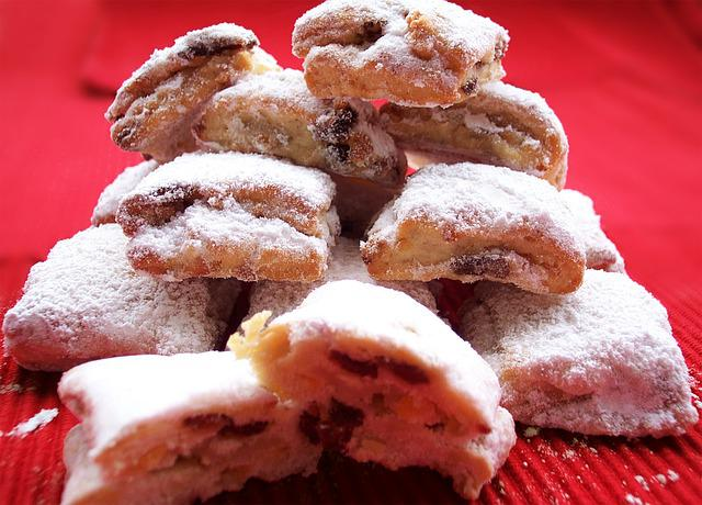 Christmas Stollen, Pastries, Christmas, Confectionery
