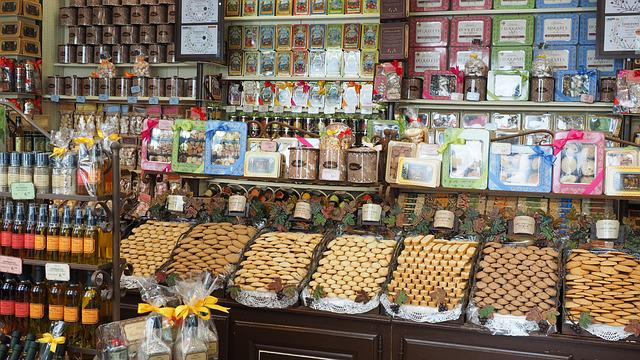 Candy Store, Confectionery, Music, Business, France