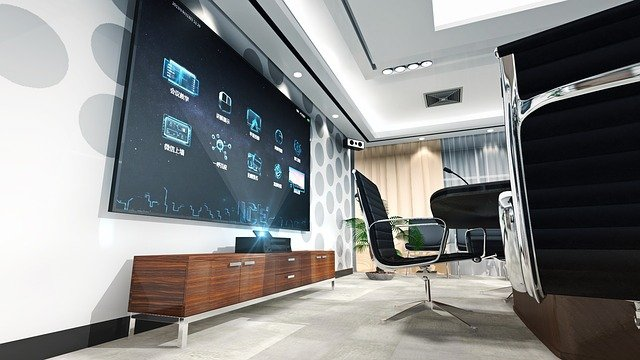 Set-top Boxes, Conference, Interior Design, Tv