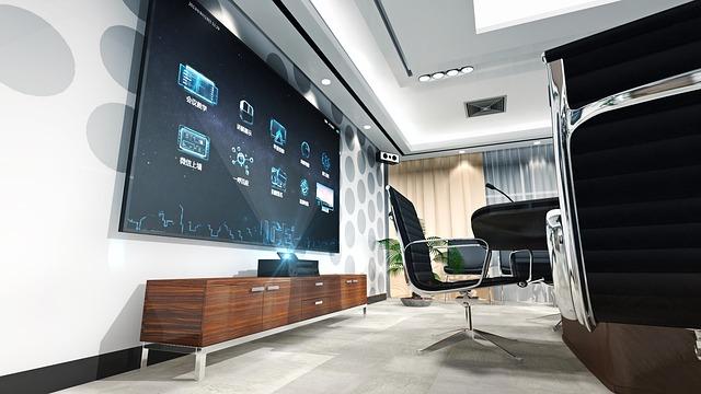 Set-top Boxes, Conference, Interior Design, Tv