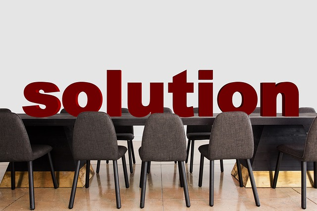 Conference, Solution, Clarification, Office