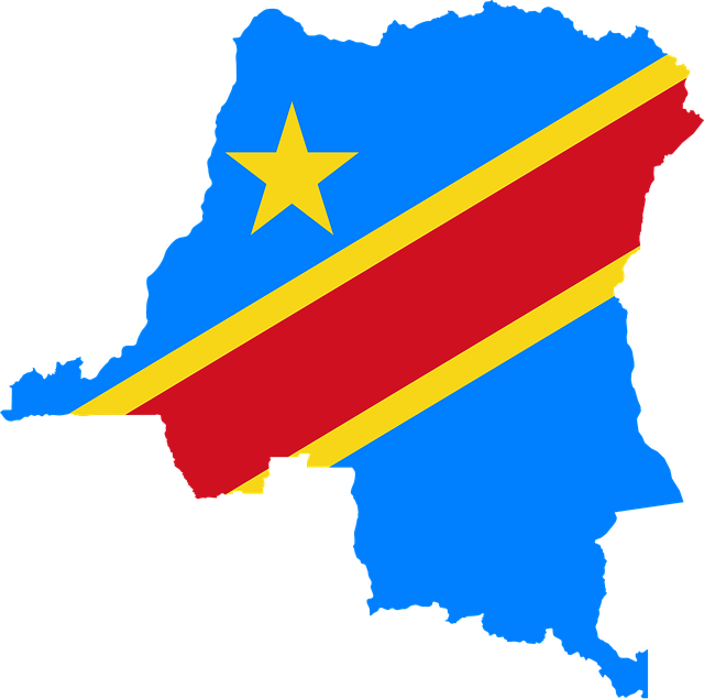 Democratic Republic Of The Congo, Flag, Congo, Map