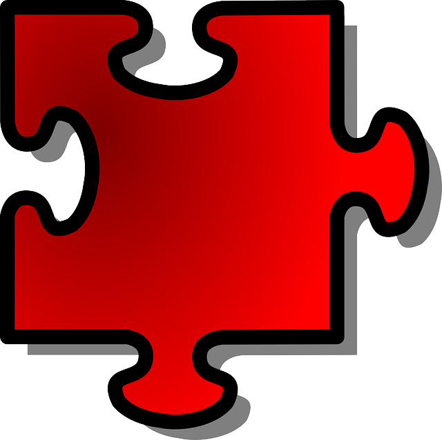 Jigsaw, Puzzle, Piece, Shape, Red, Join, Part, Connect