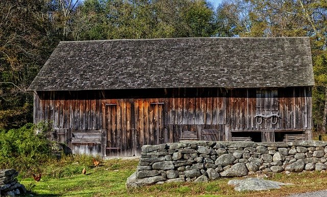 Barn, Connecticut, Scenic, Farm, Rural, Countryside