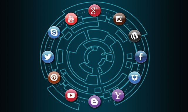 Social Media, Technology, Business, Connection
