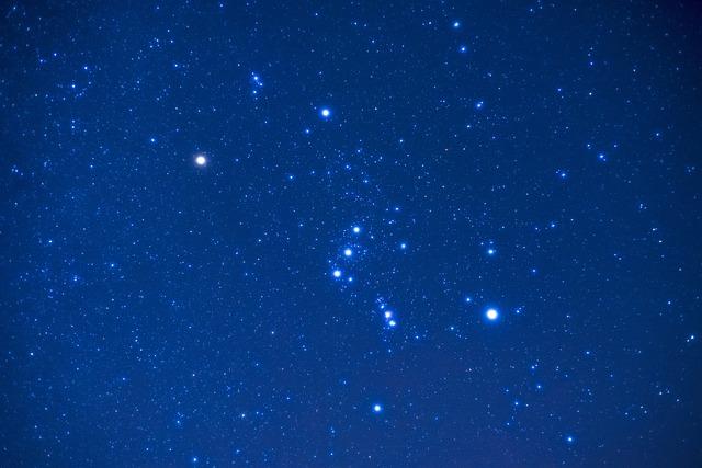 Orion, Night, Shy, Star, Constellation