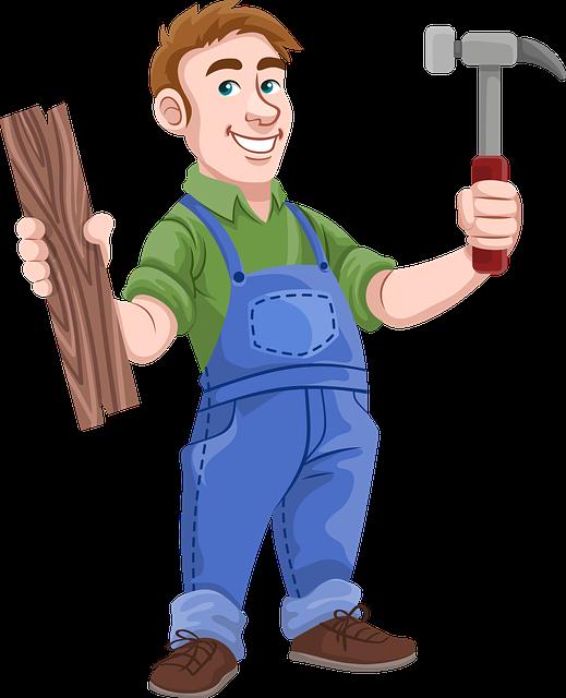 Carpenter, Hummer, Wood, Construction, Work, Instrument