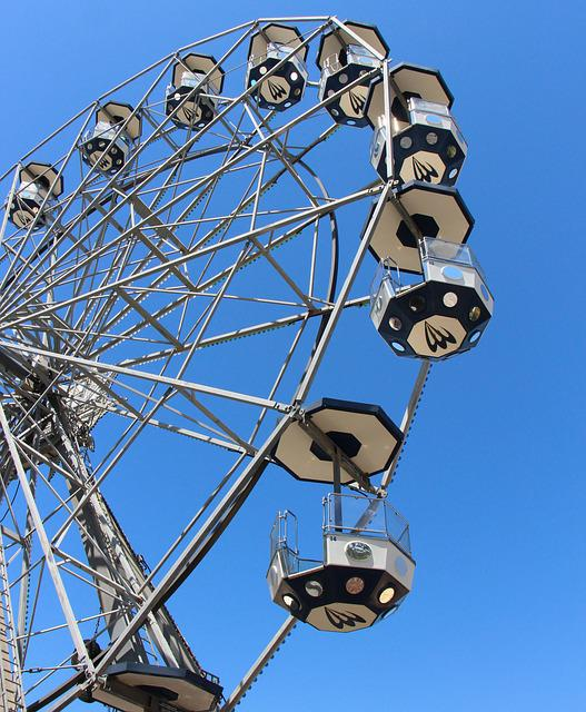 Ferris Wheel, Structure, Construction