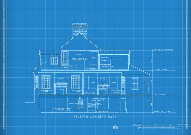 Technology, Blueprint, House Drawing, Construction