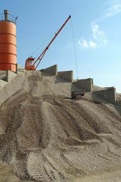 Machinery, Excavating, Construction, Industry