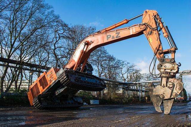 Excavators, Monster, Construction Machine, Machine
