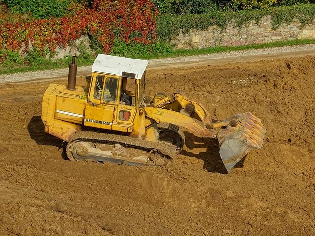 Excavators, Wheel Loader, Blade, Construction Work