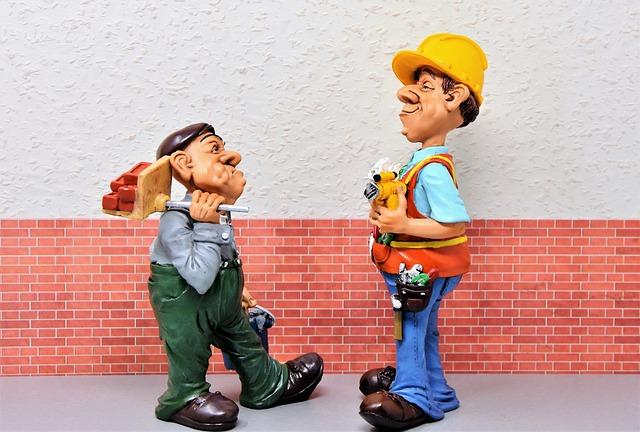 Construction Workers, Maurer, Polishing, Superior