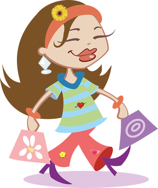 Buy, Commerce, Consumer, Fashion, Female, Girl, Happy