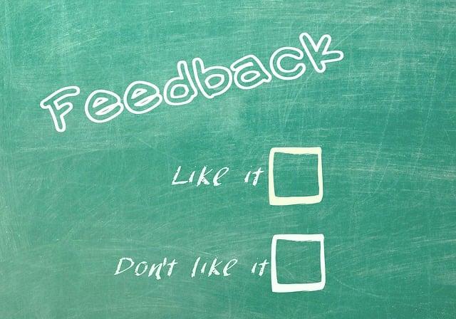 Feedback, Reaction, Contact
