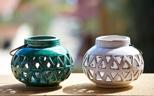 Candle Holders, Candle, Terrace, Handmade, Container
