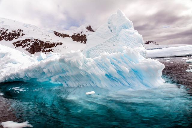 Continent, Antarktiks, Iceberg, Hurtigruten, Travel