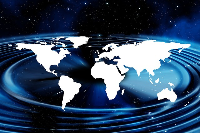 Earth, Continents, All, Space, Cosmos, Globalalisierung