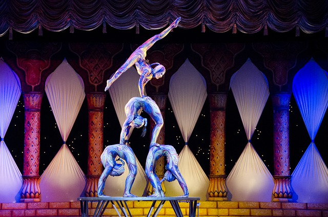 Acrobats, Circus, Contortion, Tihany
