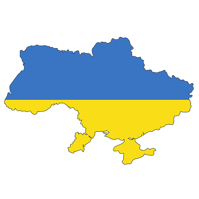 Ukraine, Crimea, Map, Flag, Contour, Borders, Country