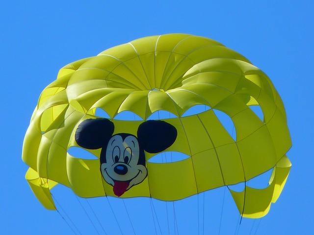 Parasailing, Controllable Parachuting, Parachute