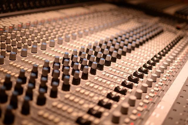 Mixer, Controller, Music, Audio, Sound Studio, Studio