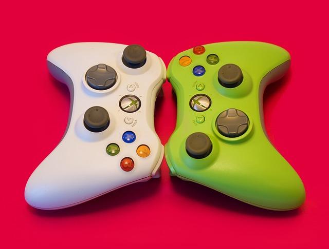 Joystick, Controller, Xbox 360, Raspberry Background