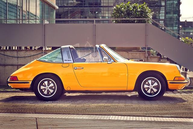 Auto, Porsche, 911, Sports Car, Convertible, Carrera
