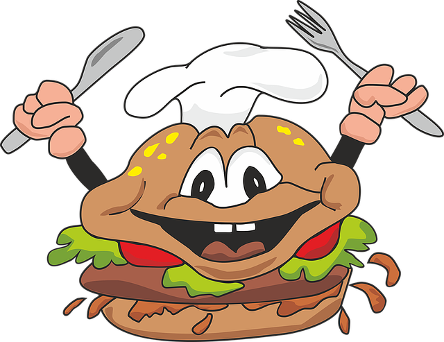 Burger, Cheeseburger, Fast Food, Meal, Restaurant, Cook
