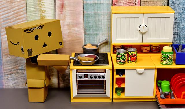 Danbo, Figure, Cook, Kitchen, House Work, Funny