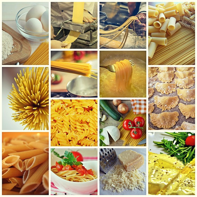 Collage, Noodles, Pasta, Food, Eat, Spaghetti, Cook