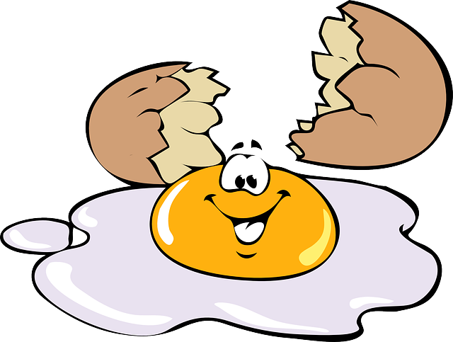 Egg, Smiling, Smile, Happy, Yellow, Cooked, Meal