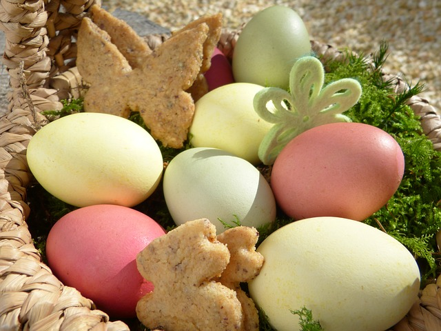Easter Nest, Easter Eggs, Cookies, Cookie, Easter Bunny
