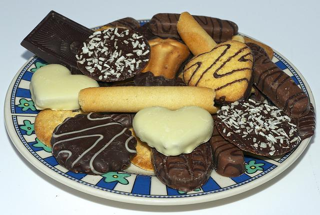Cookies, Cookie, Pastries, Butter Cookies