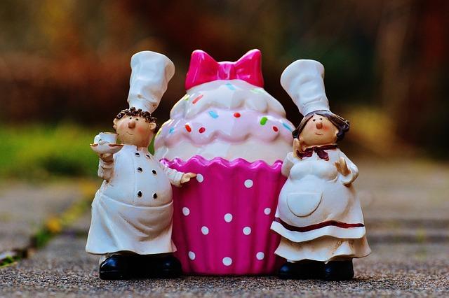 Baker, Cooking, Coffee, Cupcake, Cake, Sweet Pastry
