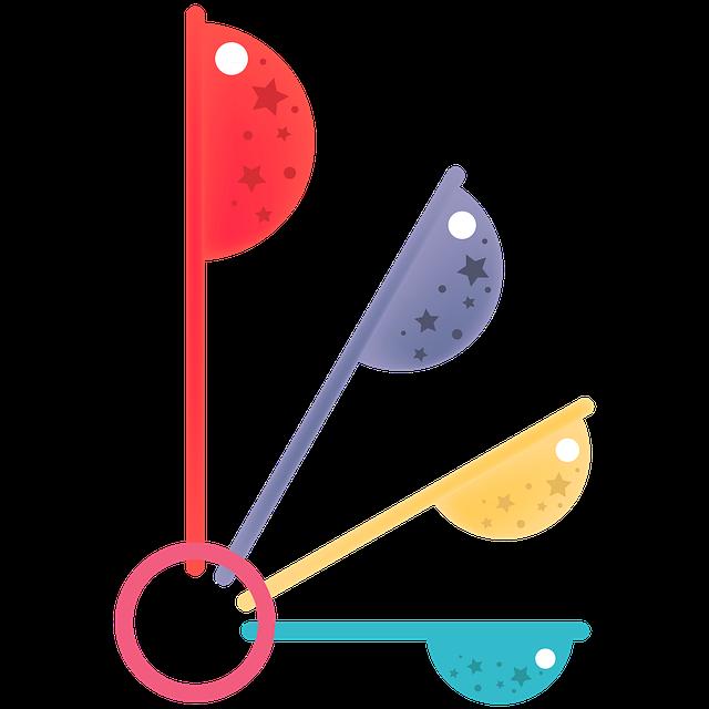 Measure Spoon, Measure, Baking, Cooking, Chef, Spoon