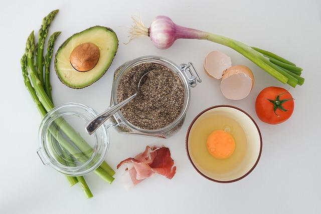 Asparagus, Avocado, Cooking, Egg, Food, Ingredients