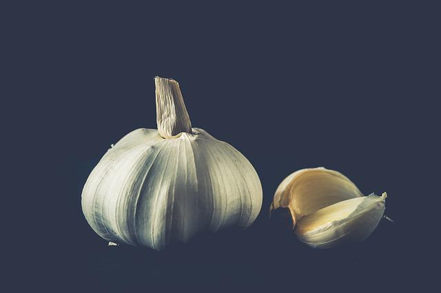 Garlic, Herbs, Cooking, Food, Healthy, Tasty, Fresh