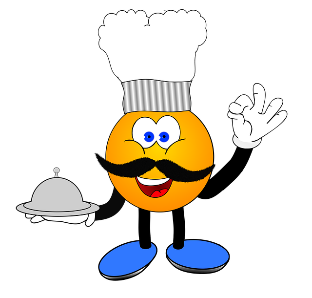 Cooking, Smiley, Eat, Delicious, Tray, Deikat, Mutze