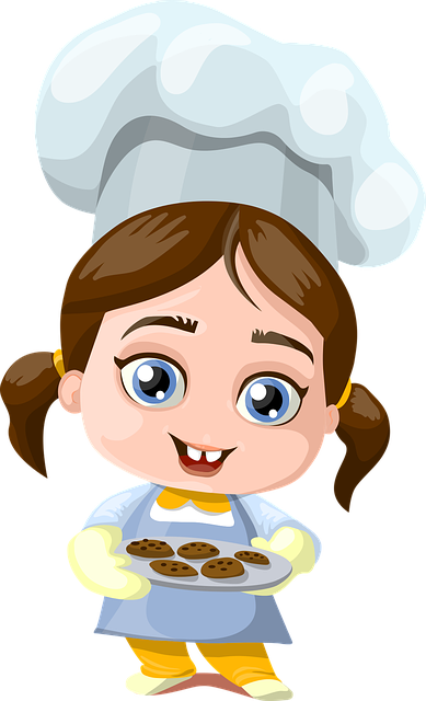 Girl, Cookies, Cooking, Cook, Little, Small, Kid, Child