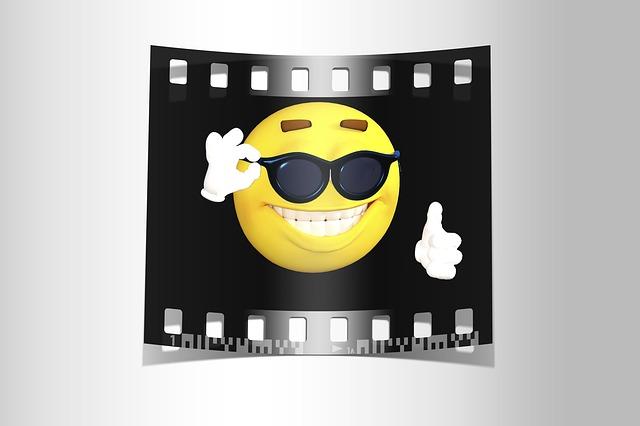 Photo, Emoji, Cool, Smiley, Cheerful, Emotion