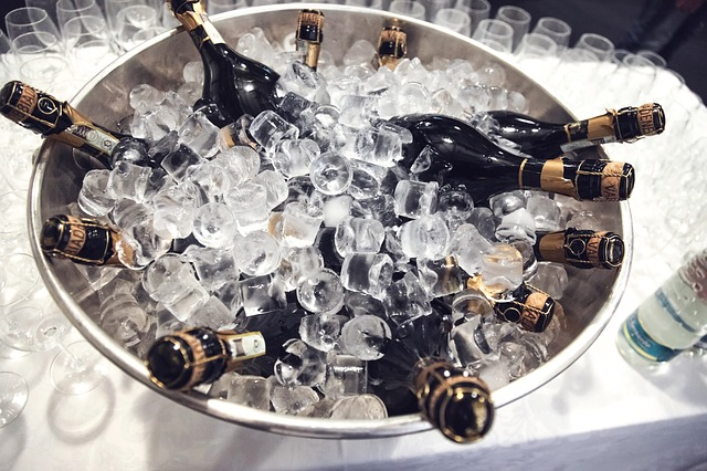 Champagne, Bottles, Cooling, Wine, Alcohol, Drink