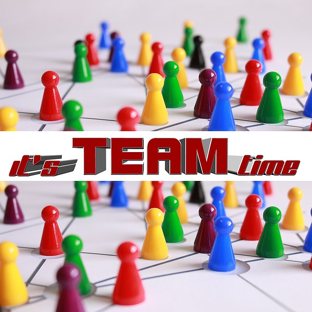 Team, Teamwork, Business, Annual Report, Cooperate