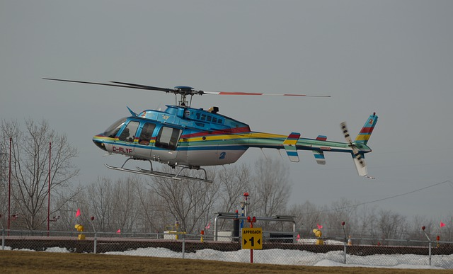 Helicopter, Landing, Chopper, Heliport, Copter, Flight