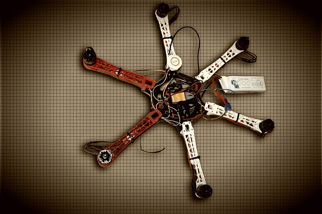 Drone, Copter, Multicopter, Hexacopter