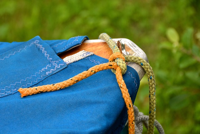 Knot, Cord, Leash, Dew, Boot, Fixing, Canvas, Flap